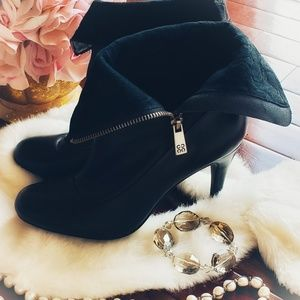 Coach Shoes - Coach | Bethie Leather Booties | Black